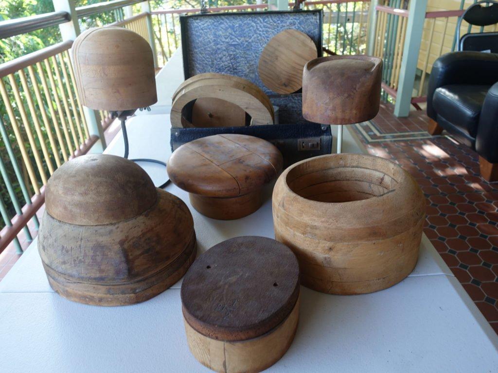 wooden hat moulds